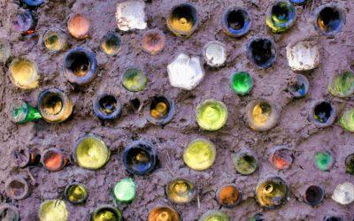 Briques de verre pour éco-construction