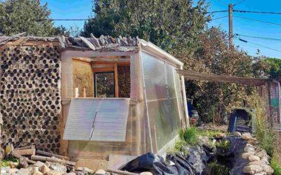 Serre bio-climatique écoconstruite