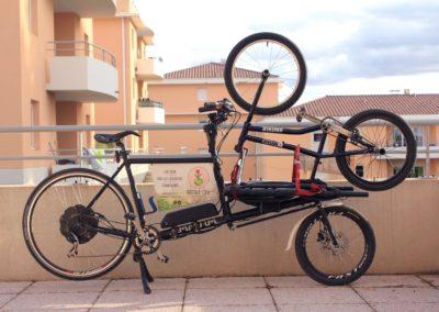 Un vélo cargo