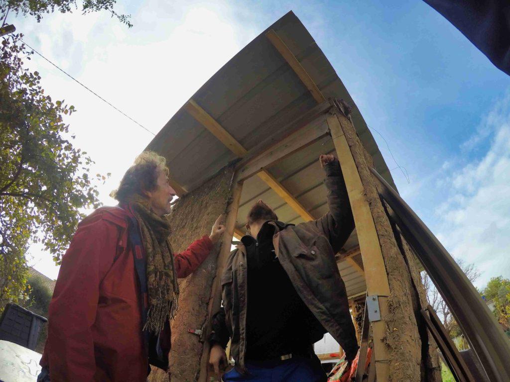 des membres de l'association natura-lien lors d'un chantier