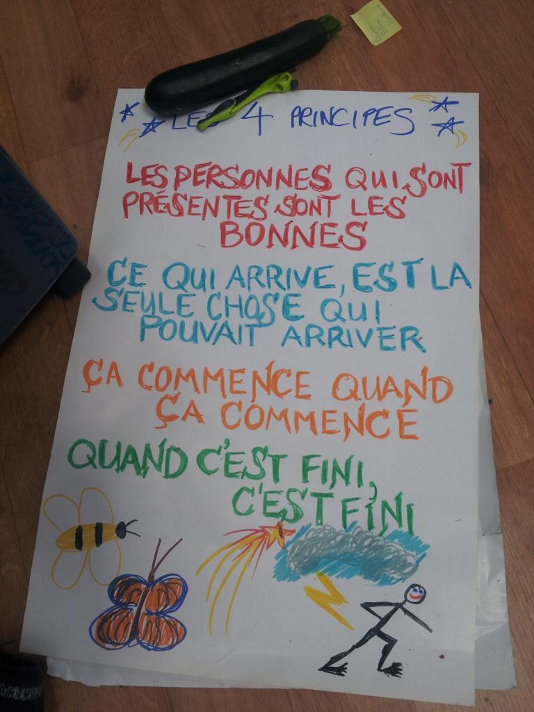 Le forum ouvert : Principes