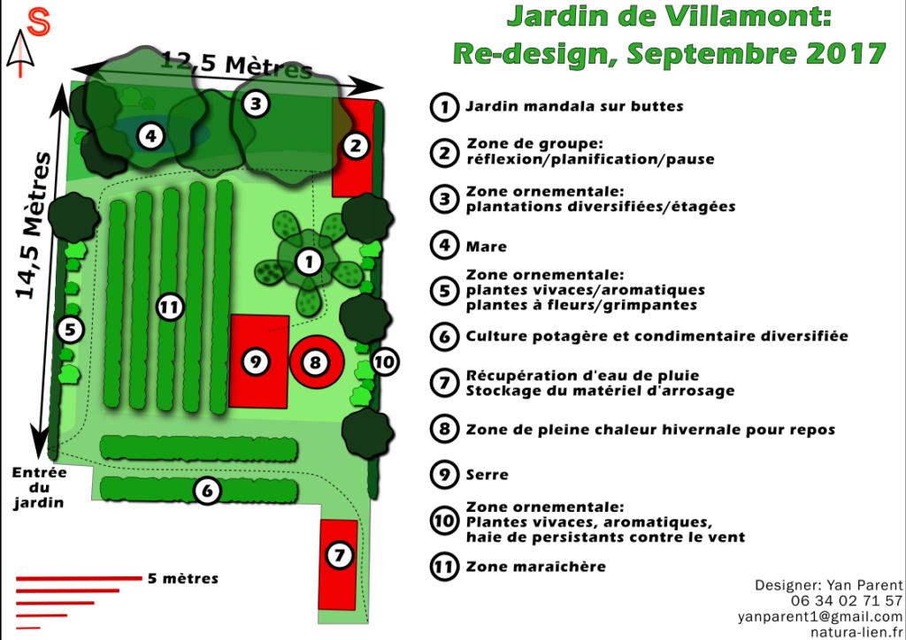 design en permaculture d'un jardin partagé dans une résidence de Béziers, en Hérault près de Montpellier, Occitanie.