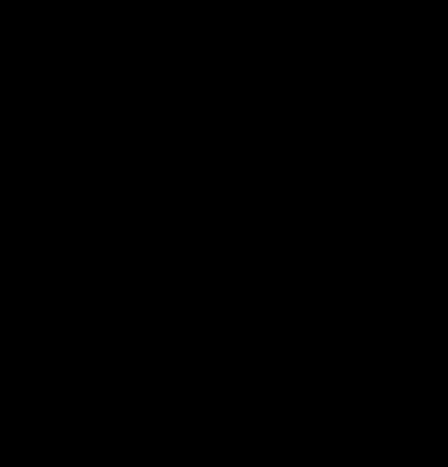 dessin au trait montrant une feuille de plante avec un motif en fond