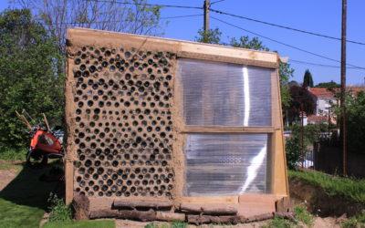 Serre bioclimatique: Elle fonctionne!