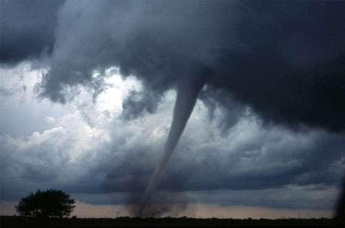 exemple d'effet de convection : la tornade
