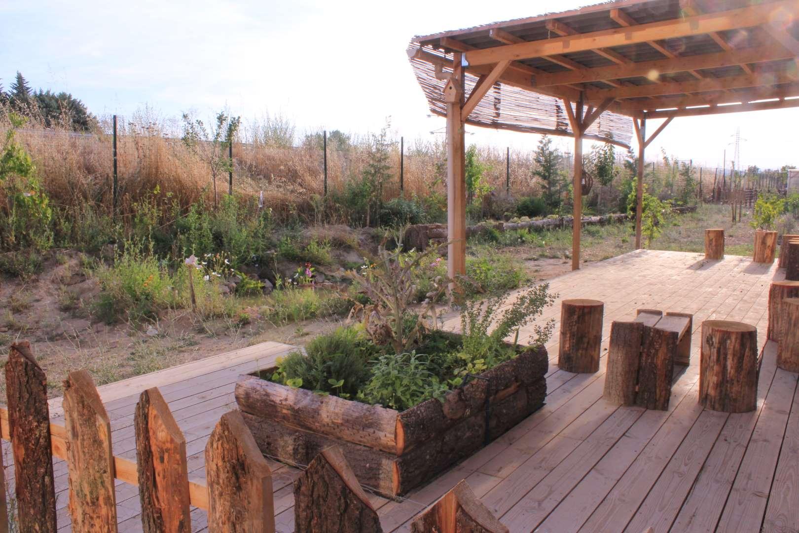 exemple de dessin dans une prestation de design en permaculture
