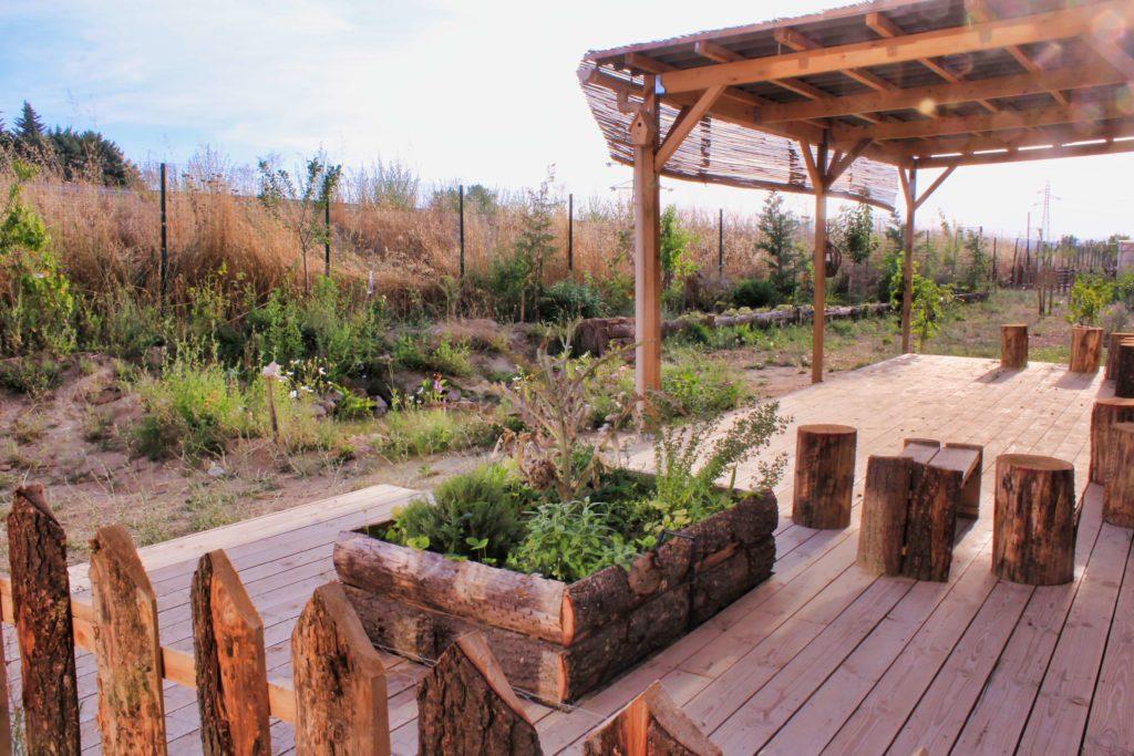 Réalisation de jardin potager d'entreprise par cultures d'avenir