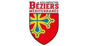 logo de l'agglomération béziers méditerranée